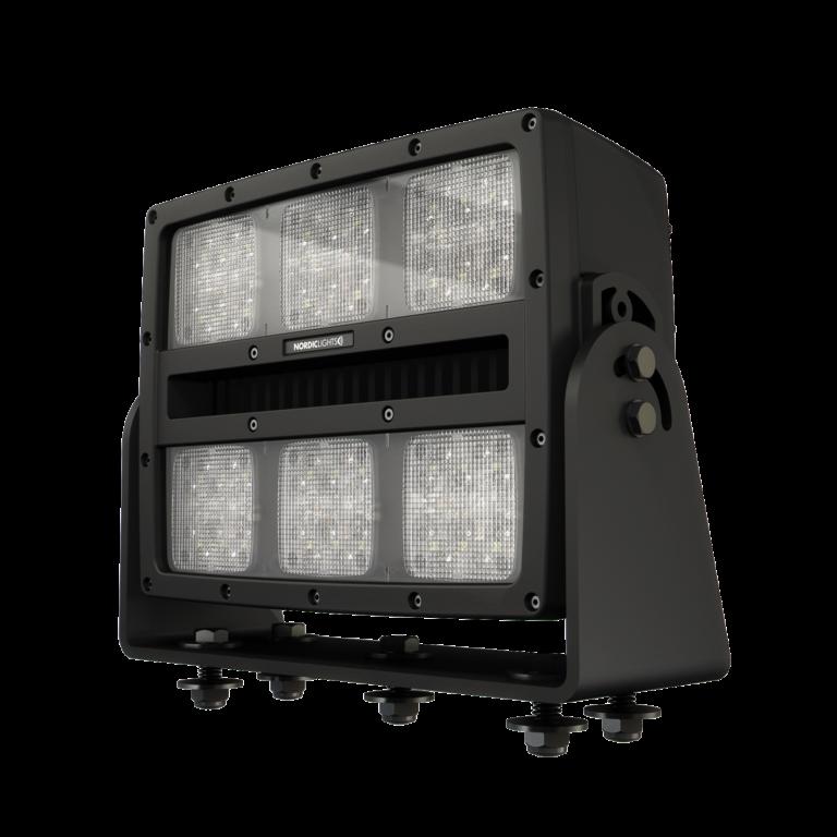 Оснащаем экскаваторы ЭКГ мощными фарами серии Gemini и Centaurus от NORDIC LIGHTS®