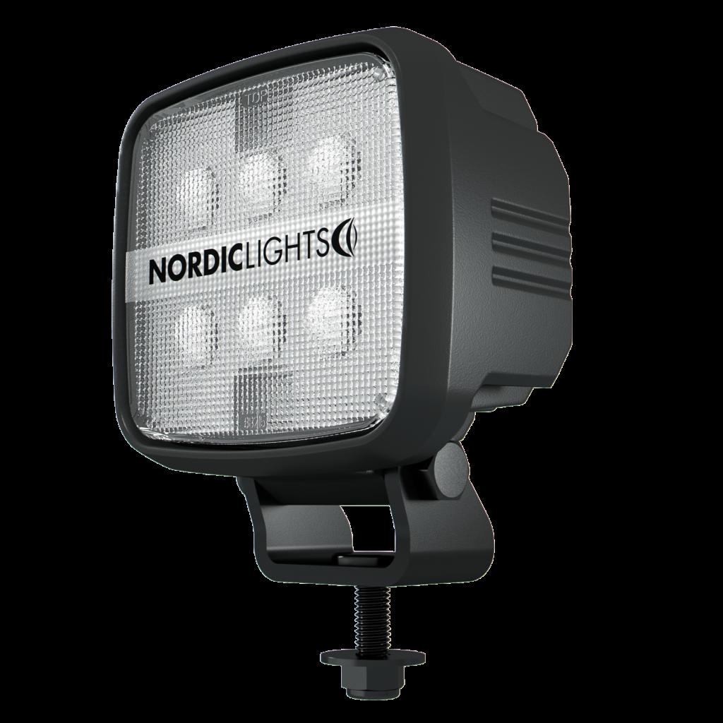 LED фары NORDIC LIGHTS® для карьерных шарнирно-сочлененных самосвалов Тонар