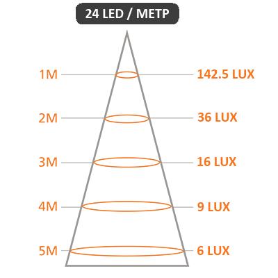 Светодиодная лента x-Glo-L-24-36vDC