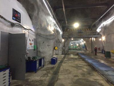 Модернизируем систему освещения подземной ремзоны рудника светодиодными лентами x-Glo