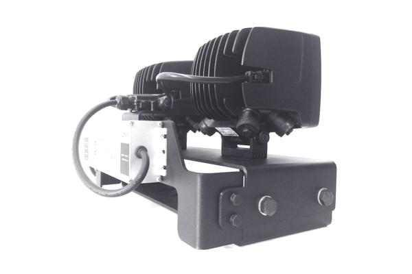Светодиодные фары на специальном кронштейне для экскаваторов ЭКГ