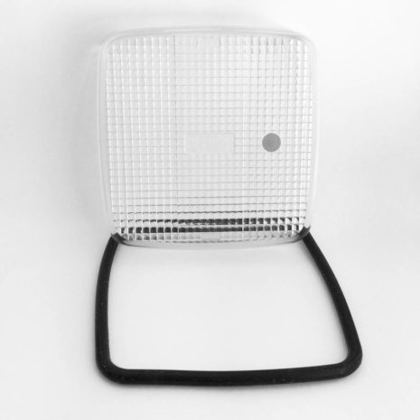 Линза прозрачная пластик-2