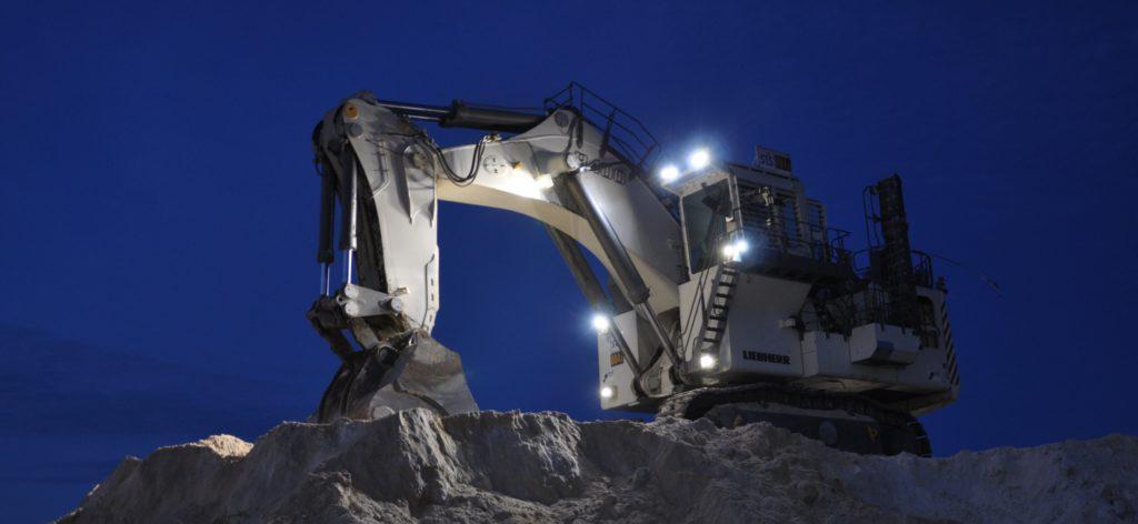 Светодиодные фары для техники горнодобывающих предприятий